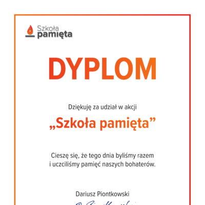 Dyplom - Szkoła pamięta-1